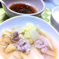 白菜と豚肉の簡単煮