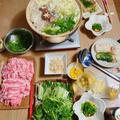 野菜タップリ♫豚しゃぶの週末ごはん