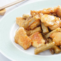 「ボーソー米油部」鶏胸肉とごぼうの甘辛炒め/料理を作りたくない日は…