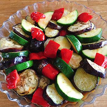 夏野菜の和風マリネ