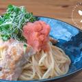 簡単にお店の味に♪鮭と明太子のクリームパスタのレシピ・作り方