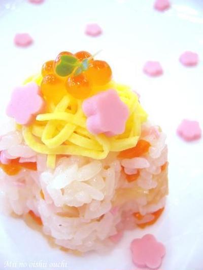 おひな祭り寿司♪簡単おもてなし春レシピ