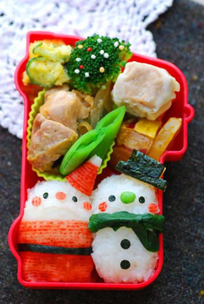 お弁当もクリスマス仕様!子どもも大人も笑顔になるデコ弁レシピ☆