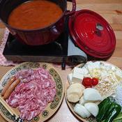 夏のカレートマト鍋
