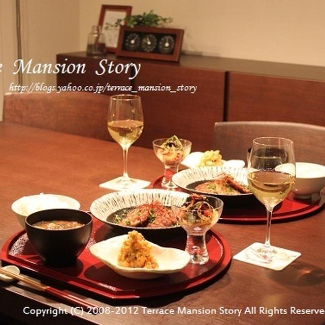 バレンタインは、テラマン個室で和食ごはん。