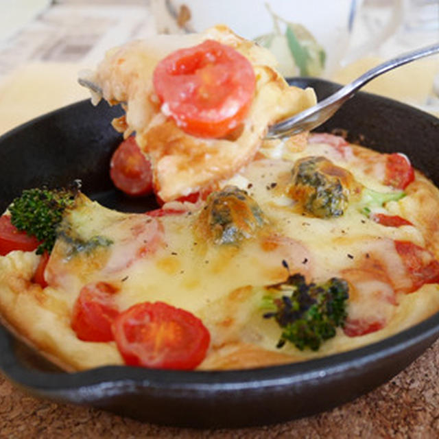 大きいチーズでトマトマトファン
