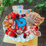 任天堂SWITCH☆ARMSのバースデーケーキ
