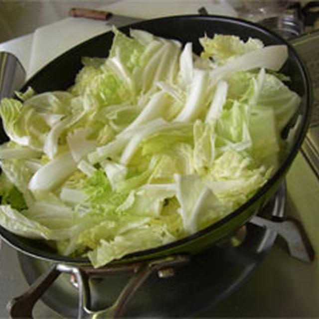 白菜のグリルふわとろソース