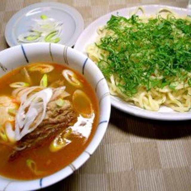 コチュジャンとスペアリブの【ぶっとい】つけ麺