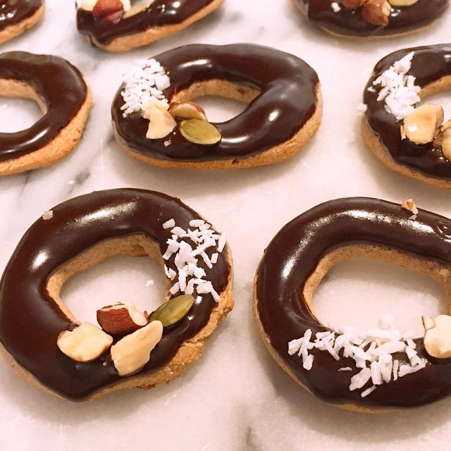 ヴィーガン🌱混ぜて簡単!焼きドーナツクッキー