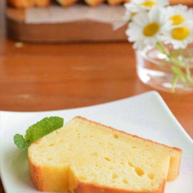 ホットケーキミックスで♪ヨーグルトと レモンの爽やかケーキ