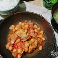 深雪もち豚と豆のトマト煮込み
