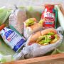 コクっとミルクとお弁当をもってピクニックと山菜採り♪