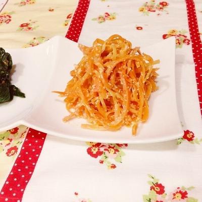 【Recipe:にんじん明太】cookpad つくレポ100人ありがとうございます☆