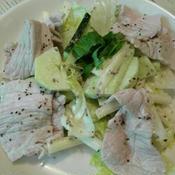 ゆで豚のマスタードサラダ