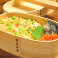 【今日のわっぱ弁当】鮭ちらし寿司 by みぃさん