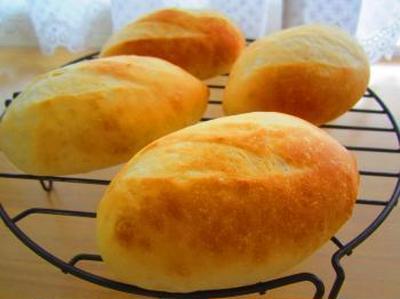 コッペパン焼いて♪はちみつきなこクリームサンド♪イングリッシュマフィン♪梅のフルーツブランデー♪