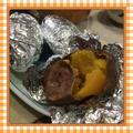 魚焼きグリルで簡単調理!安納芋の焼き芋 by kajuさん