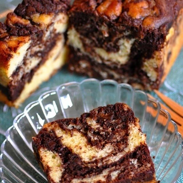 クリチのマーブルパウンドケーキ
