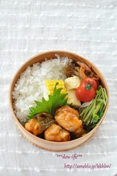 【揚げない酢豚弁当】