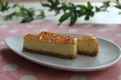 しっとり♪ベークドチーズケーキ レシピ