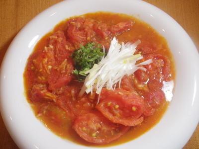 トマトのしょうが煮・料理レシピ