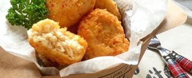 チキンじゃなくてもおいしい!お肉以外で作る「ナゲット」レシピ