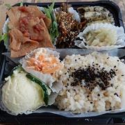 久しぶりのお得意様のご予約 organic vegan lunch box