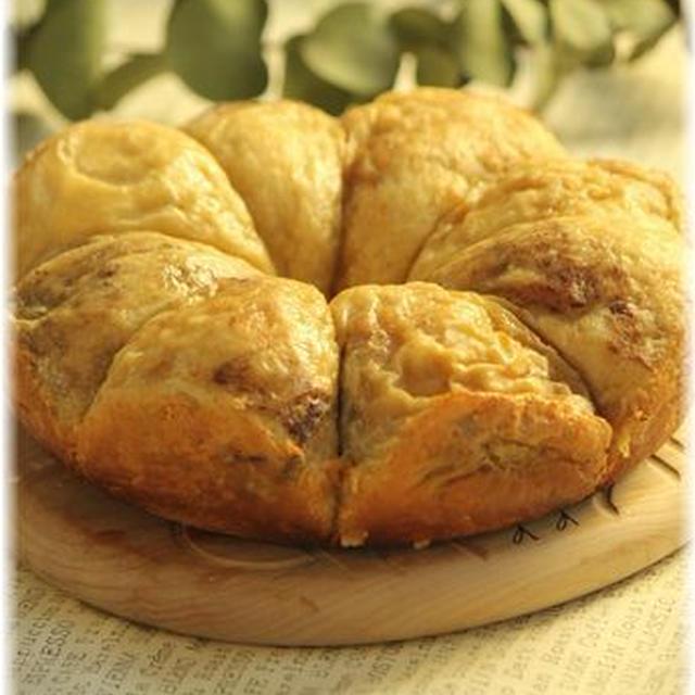 炊飯器でつくる シナモンコーヒーのふわふわパン。