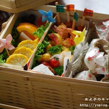 キャンディーおにぎりの行楽弁当★