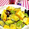 茄子とピーマンの味噌マヨクミン
