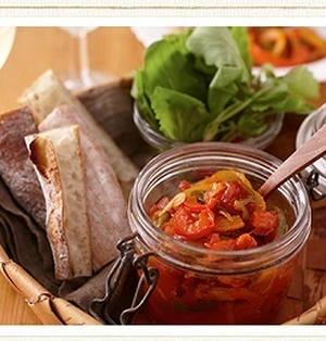 ★更新!★お酒にピッタリ!おすすめレシピ は野菜おつまみ♪『3色ピーマンのトマト煮』