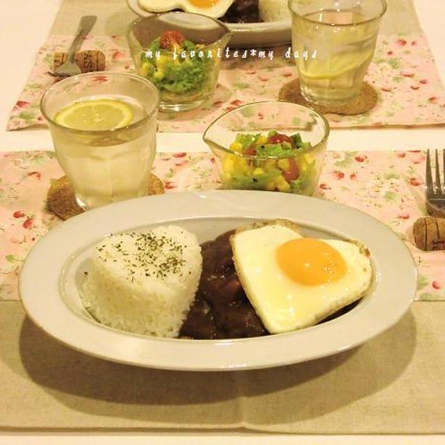 ビーフシチュー丼ディナー&カルボナーラランチ&おつまみ2種レシピ