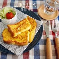 オール1チーズinフレンチトースト-簡単*時短*節約*朝ごはん*黄金比率