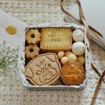 娘へ*クッキー缶のプレゼント♡