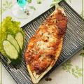 サルベージ⑭鯖缶de米茄子チーズ焼き