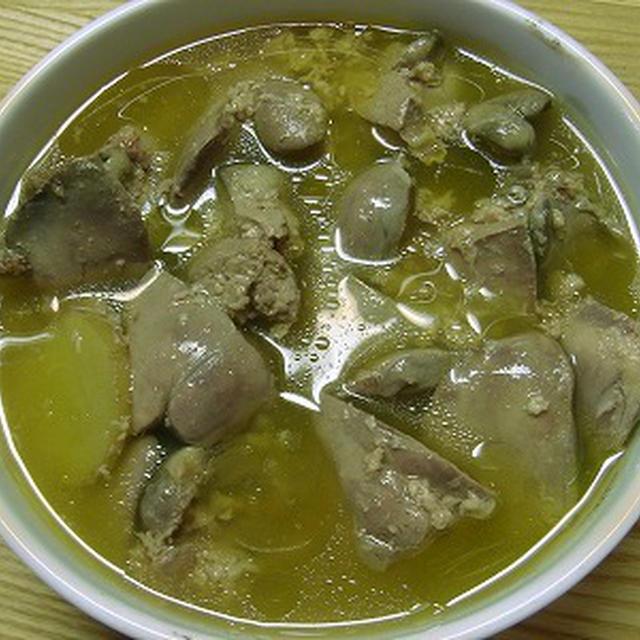 鶏レバ塩糀煮(なんちゃって)
