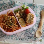 ナポリタンとコロッケ弁当をあえて朝食べる、幼稚園を確実にさぼる裏技??