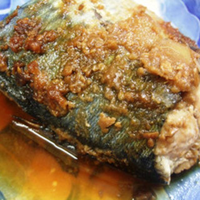 レンジでサバの味噌煮
