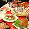 両家でクリスマスパーティ~☆丸鶏ローストチキン by ぱおさん