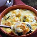 【本気の洋食】コクうまソースのほうれん草とホタテのドリア。 by OTOKOMAE KITCHEN MARI'sさん