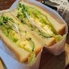 野菜とふわふわ卵のサンドイッチ