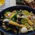 太麺皿うどん。