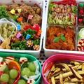 2013 「運動会のお弁当」(簡単な作り方、詰め方の解説あり)