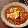 暑いときには暑い国の料理を【アフリカ・ガボン共和国のチキンムアンバ】と週末の晩ごはん