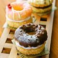 ホットケーキミックスHMで簡単お菓子♡クロワッサン風焼きドーナツ