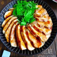 ♡レンジで6分♡むね肉de超簡単鶏チャーシュー♡【#時短#節約#作りおき#鶏むね肉】