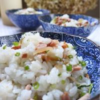 ザーサイと焼き豚のスピード混ぜご飯