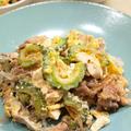 【和食】ゴーヤチャンプルー&なすと揚げ出し豆腐のめんつゆおろしで晩ごはん。 by きちりーもんじゃさん
