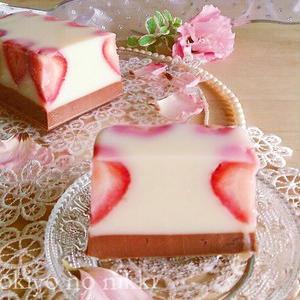 見た目も味も甘~い♪「いちご×ホワイトチョコレート」のスイーツ